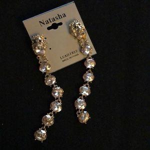 e39dbd68c5d Natasha Jewelry - ⚜ 🆕 Natasha Lion Head Champagne Crystal Dusters